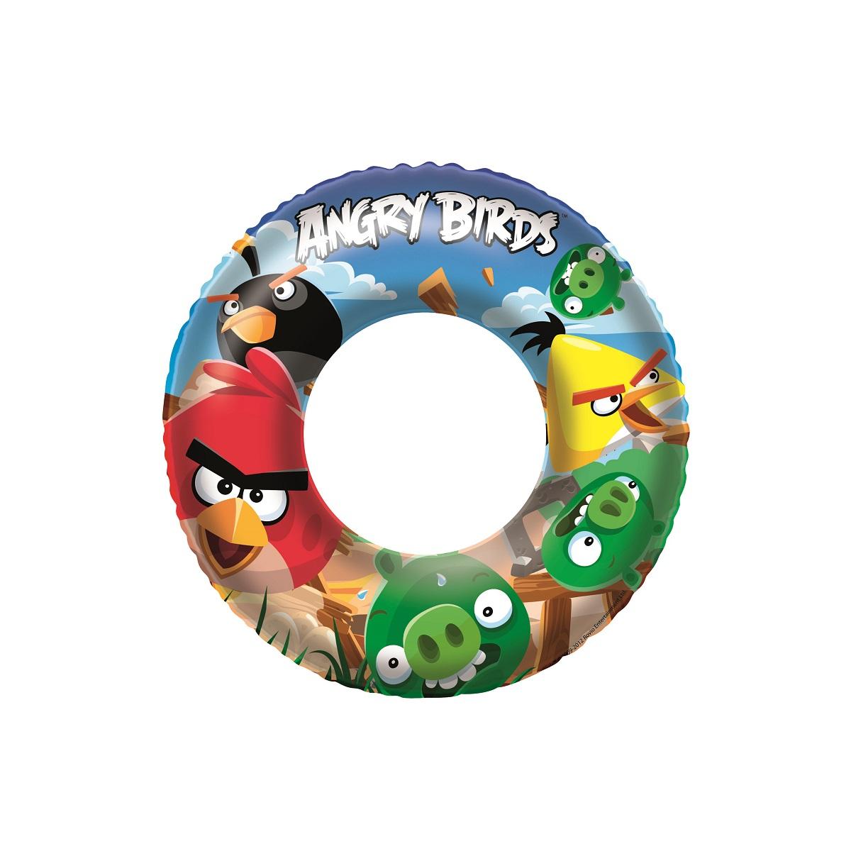 Nafukovací kruh BESTWAY Angry Birds - 56 cm