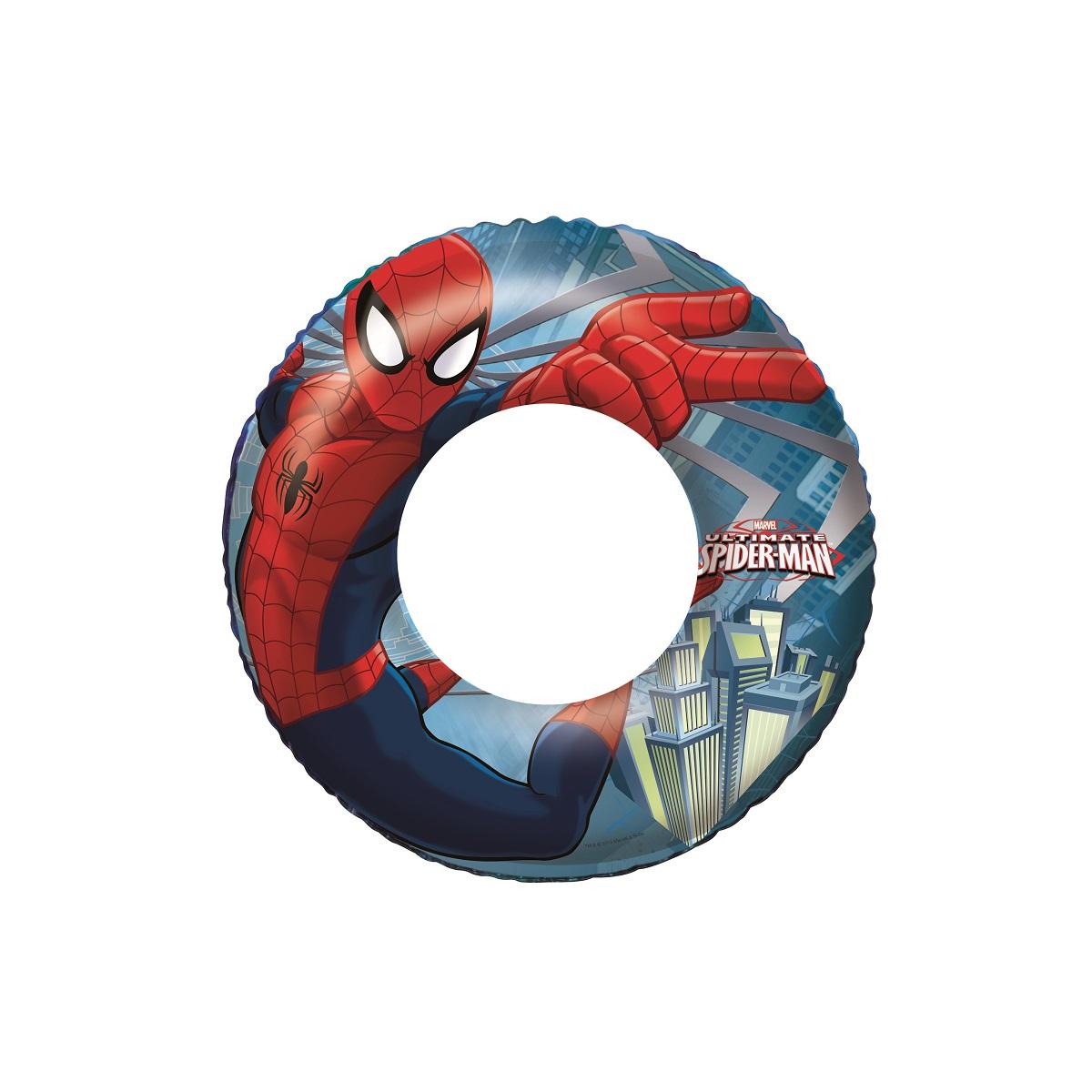 Nafukovací kruh BESTWAY Spiderman - 56 cm