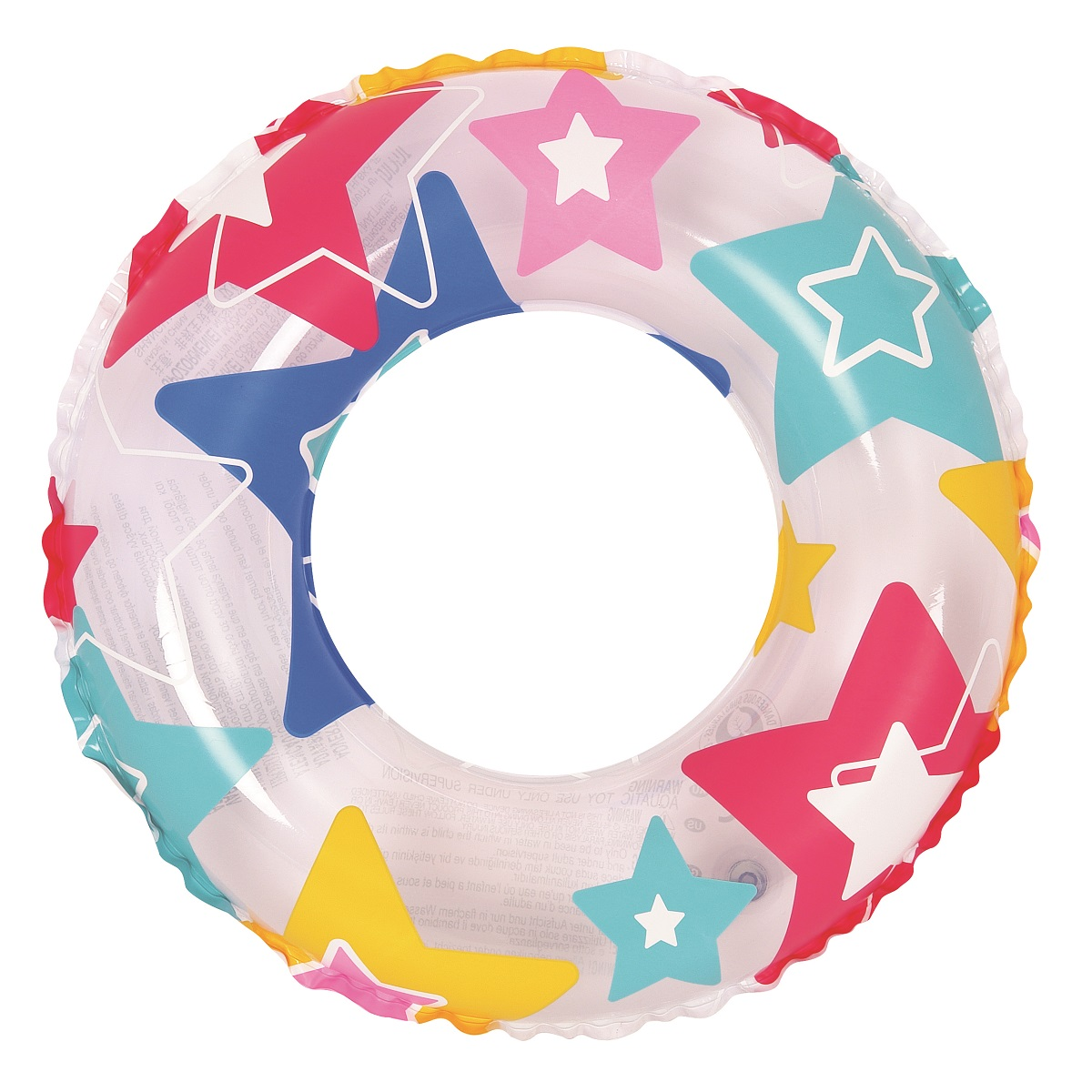 Nafukovací kruh Colorful - 60 cm