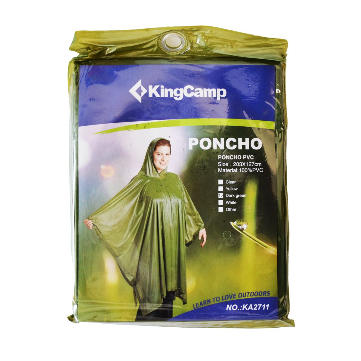 Poncho PVC KING CAMP - pláštenka